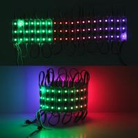 WS2801 IC 5050*3 SMD 5050 3 LEDS RGB Pixels Digitally controllable LED Pixel Module Light waterproof DC12V