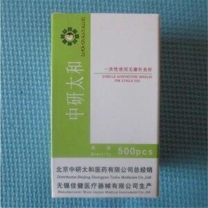 Image 4 - Authentic 500pcs ZhongyanTaihe Sterilization Acupuncture Needle Akupunktur Disposable sterile acupuncture needles Practice nedle