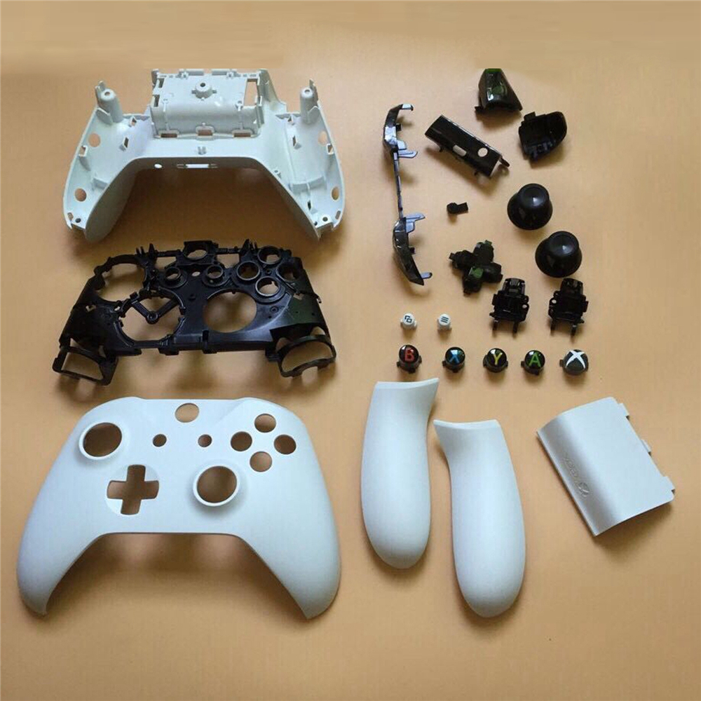 Full Housing Shell Kit For Microsoft Xbox One S Controller Protective Gamepads Case Cover Replacement Set
