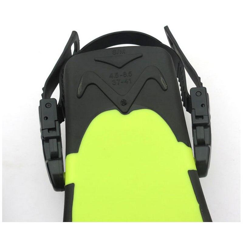 Professionnel Palmes De Plongée sous-marine adulte Réglable chaussures De Natation En Silicone longue Submersible Plongée Pied monofin Palmes De Plongée - 5