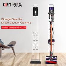 BUBM Metal Storage Vacuum Cleaner Bracket, Docking Station & Tools Floor Stand for Dyson V6 V7 V8 V10 Cordless Vacuum Cleaner