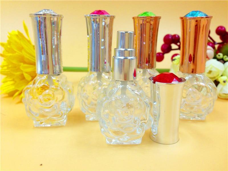 Spray de Perfume de Vidro Com Tampa