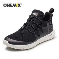 ONEMIX Men Running Shoes Lightweight Sneakers Soft Deodorant Insole Women Sneaker for Outdoor Jogging Buckle Strap Walking Shoes