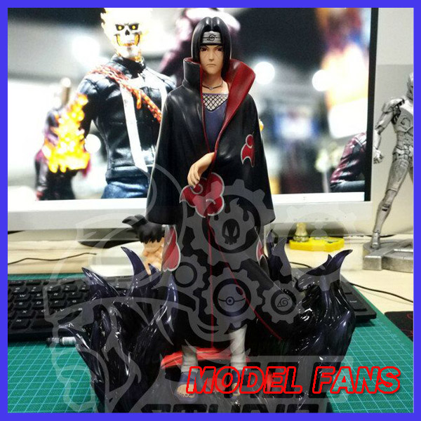 MODEL FANS INSTOCK 26cm NARUTO Akatsuki Uchiha Itachi GK resin made toy figure for Collection Handicrafts shfiguarts naruto uchiha itachi moloing and movable pvc action figure collectible model toy 16cm