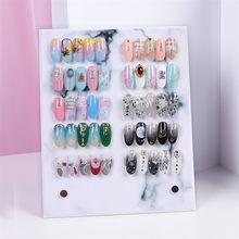 Nail Color Card Display Transparent Stereo Detachable Color Card Display Board #30(China)