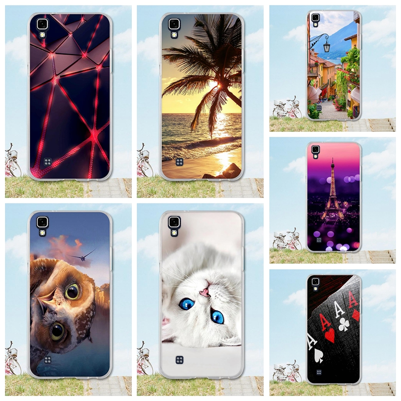 Soft Silicone Case For <font><b>LG</b></font> <font><b>X</b></font> <font><b>Power</b></font> cover 3D Tree Cat Patterns Cover Capa For Coque Fundas <font><b>LG</b></font> <font><b>X</b></font> <font><b>Power</b></font> K210 K220 <font><b>K220ds</b></font> Coque 5.3