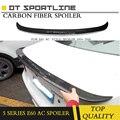 Für BMW E60 Spoiler Hohe Qualität ABS Auto Heckflügel Spoiler Für BMW E60 M5 520 525 528 535 Spoiler 2005 2010 AC Stil-in Spoiler & Flügel aus Kraftfahrzeuge und Motorräder bei