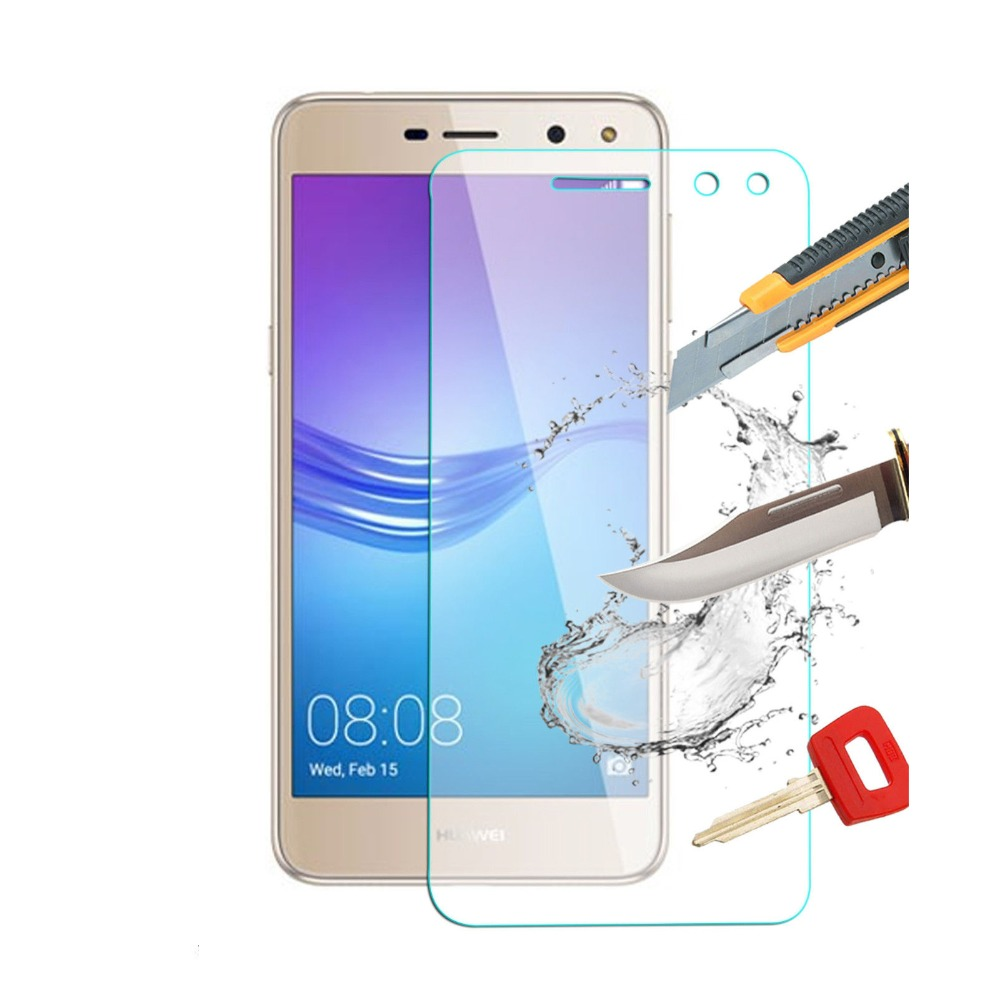 9H Clear Tempered Glass For HUAWEI Y5 2017 / Y6 2017 MYA L22 L21 Phone Film Screen Protector For Huawei Nova Young 4G LTE Glas