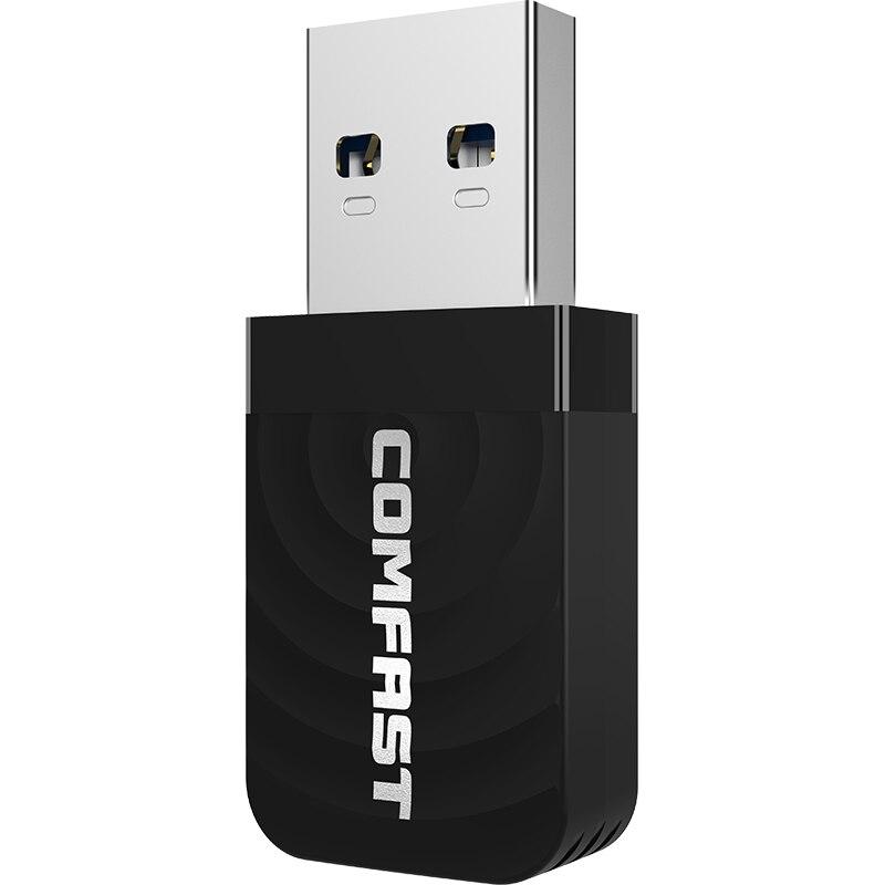 1300Mbps High Speed USB 3.0 Gigabit Wireless Wifi Adapter 2.4Ghz/5Ghz Dual Band Network Card RTL8812BU 2dBi Antenna For PC Card
