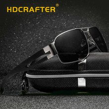 Fashion Polarized OutdoorDriving Men Sunglasses UV400 Brand Design Rectangle Eyewear with High Quality Oculos Free Shipping
