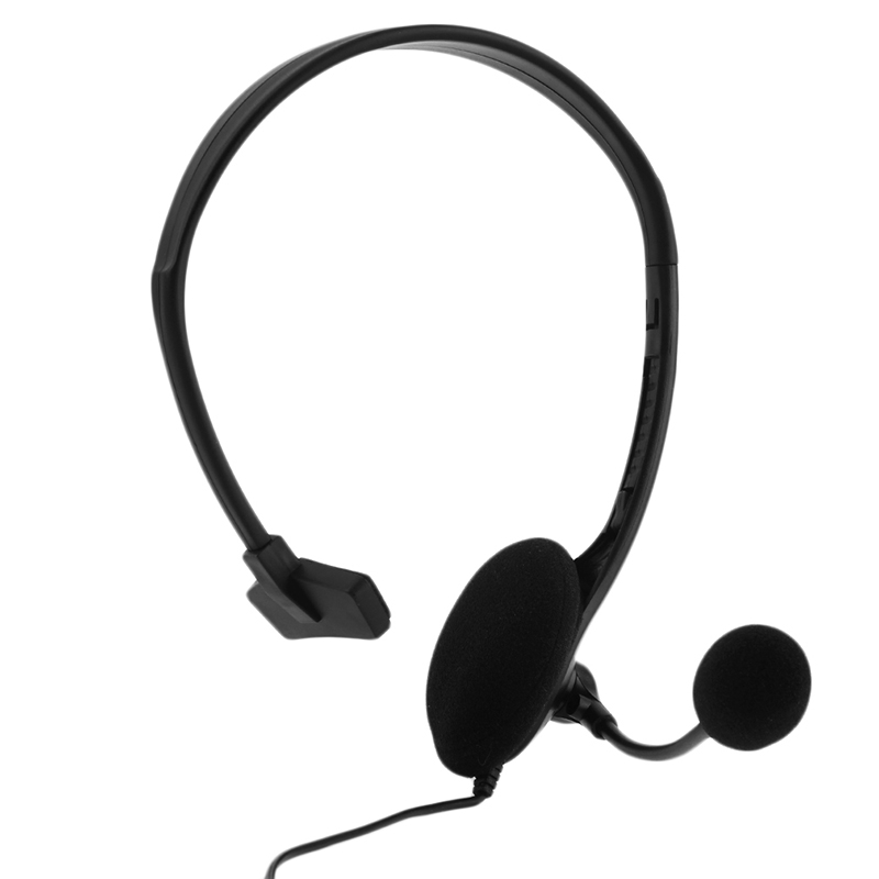 SIFREE Wired Game Headset Noise Cancelling 3.5mm Jack Single Side Headphone with Microphone for PS4 Game