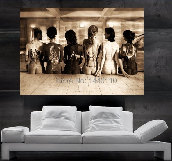 PINK FLOYD Spia Back Poster Print Wall Art 8 Parts Giant Huge Free Shipping  NO 64 In Wall Stickers From Home U0026 Garden On Aliexpress.com | Alibaba Group