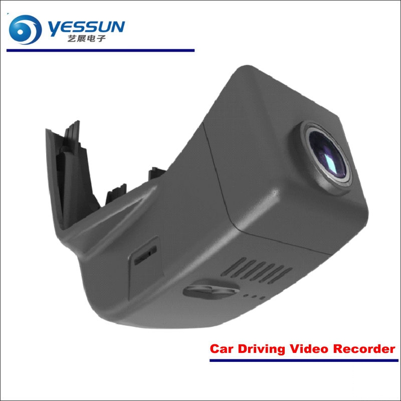 YESSUN Car DVR Driving Video Recorder For Volvo XC90 2015 2016 2017 Front Camera Black Box Dash Cam - Head Up Plug Play OEM yessun car dvr driving video recorder for buick enclave front camera black box dash cam head up plug 1080p wifi phone app