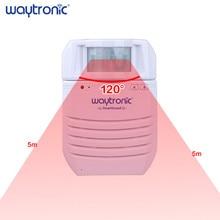 Kablosuz konuşan PIR kızılötesi hareket sensör dedektörü otomatik indüksiyon kapı zili karşılama alarmı sesli spiker