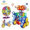 LeadingStar 95Pcs Children Creative Diverse Magnetic Building Block Pieces Construction Toys Set