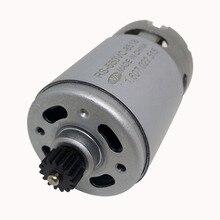 купить 10.8V 15 teeth RS-550VC-8518 motor for BOSCH GSR10.8V-LI 3601J920E0  electric drill  Screwdriver maintenance spare parts дешево