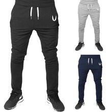 New Men Pants Long Sport Gym Slim Fit Trousers Workout Running Joggers Athletic Elastic Casual Spring Summer Sweatpants
