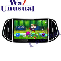 10.1 Inch Quad Core 16G Android 6.0 Auto GPS Navigation Radio Player For Kia KX3 2015 2016 2017 with WIFI BT 3G HD 1024*600 Maps