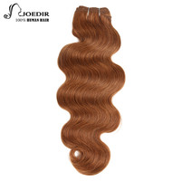 Joedir Hair Brazilian Remy Human Hair Weave Body Wave Color 4 And 30 Brown Color And Auburn Bundles Deal Free Shipping