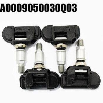 For Mercedes For Smart C E S CL CLA CLS G GL GLK 4PC A0009050030Q03 Tire Pressure Monitor Sensor TPMS