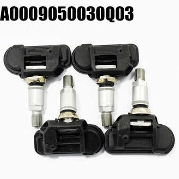 For Mercedes For Smart C E S CL CLA CLS G GL GLK 4PC A0009050030Q03 Tire Pressure Monitor Sensor TPMS - DISCOUNT ITEM  7% OFF All Category