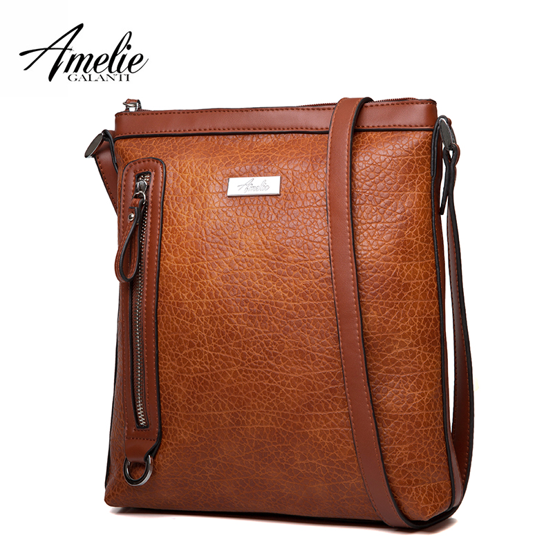 AMELIE GALANTI Women's Bag Shoulder & Crossbody Bags Medium Size Designed For Tall People Soft PU Leather Women Crossbody Bags
