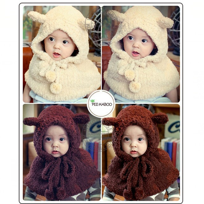 c7c6e97dc1b Children Apparel Accessories Newborn Photography Props Baby Hat Girls Winter  Scarves Wraps Boys Warm Plush Scarf Shawl Hijab. Price