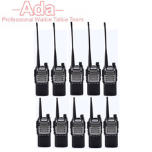 10PCS New BaoFeng Pofung Two Way Radio UV-8D UV8D Portable PTT radio Walkie Talkie 8W Transceiver Standared Battery 2800mAh