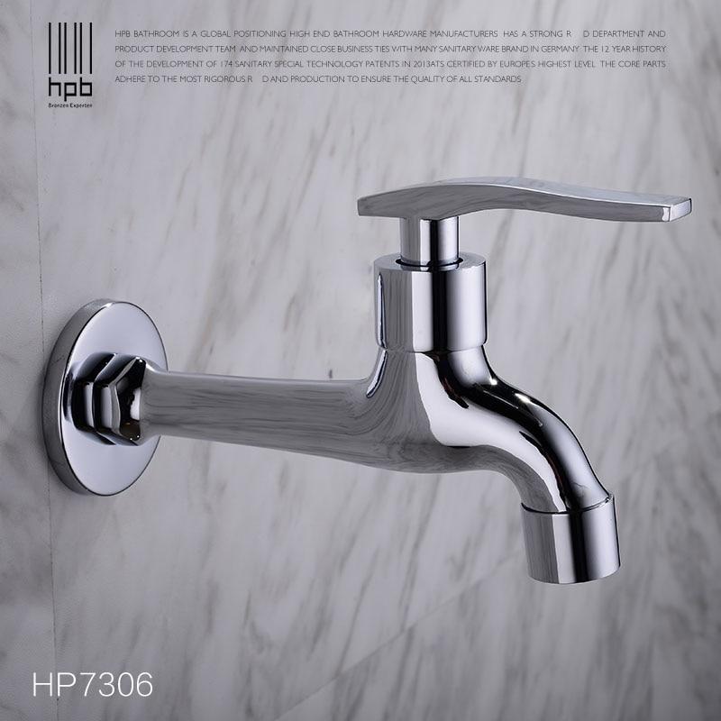 HPB Brass Garden Faucet Decorative Outdoor Faucets Tap