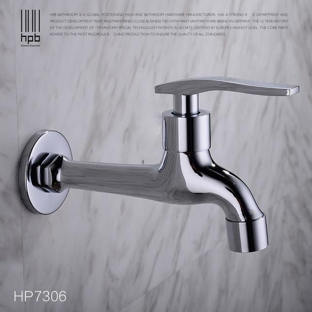 HPB Brass Garden Faucet Decorative Outdoor Faucets Tap Bibcock ...
