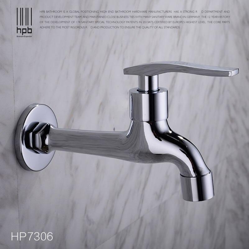 HPB laiton Robinet de jardin robinets extérieurs décoratifs Robinet Bibcock buanderie utilitaire robinets Robinet HP7306c