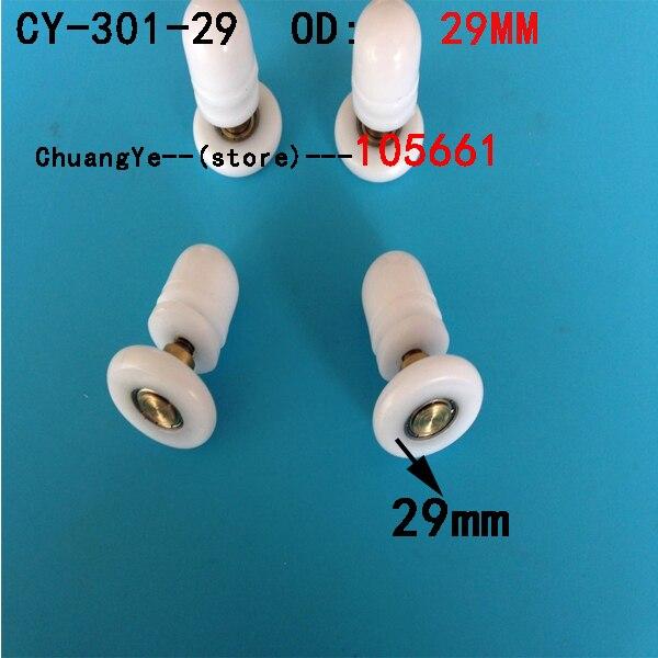 4 X Shower Door Rollers/Runners/Wheels Replacement Diameter 29mm
