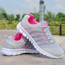 Women Shoes Breathable Air Mesh Sneakers Woman Lightweight V