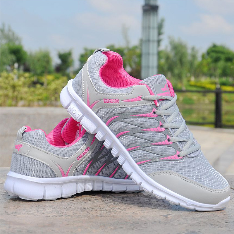 Shoes Sneakers Women 2018 Breathable Mesh Shoes Woman Lightweight White Sneakers Basket Femme Summer Autumn Women Casual Shoes