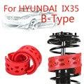 Jinke 1 пара передний амортизатор SEBS размер-B бампер Подушка амортизатор пружинный буфер для Hyundai IX35