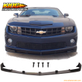 Fit For 2010-2013 11 12 Chevy Camaro V8 SS Front Bumper Lip Spoiler Street Style Lower Spoiler