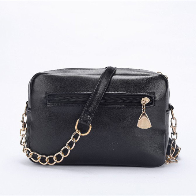 2017 Women Chain Shoulder Bag High Quality PU Leather