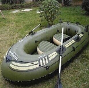 Bateau pneumatique/quatre bateaux de pêche et épaissir les bateaux en caoutchouc pâte d'aluminium + 5000CC pompe Bigfoot (pour 4-6erpsone