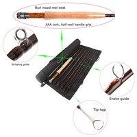 FREE SHIPPING Traveller Fly Fishing Rod 9 Ft 6 Wt 7 Pcs Nano Japanese Carbon Traveller