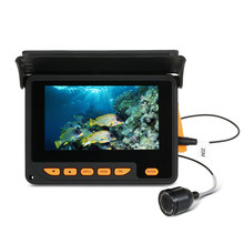"Lixada 20M 1000TVL Fish Finder Underwater Ice Fishing Video Camera 4.3"" LCD Monitor 8 Infrared IR LED Night Vision Camera(China)"