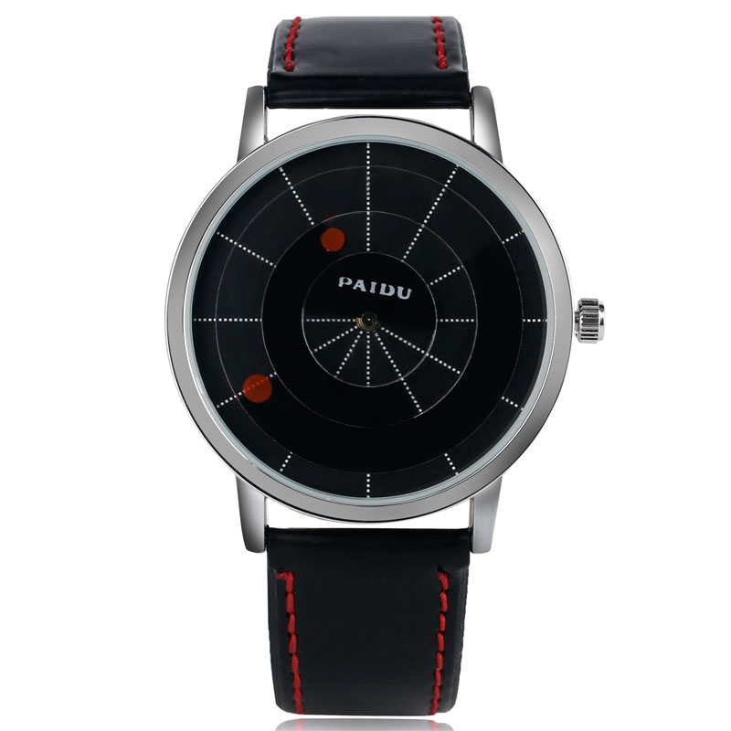 Women Casual Trendy Sport Wrist Watch Special Turntable Dial Men Leather Band Strap New arrival Quartz Simple Cool effects of grazing on insect pollinator diversity and abundance