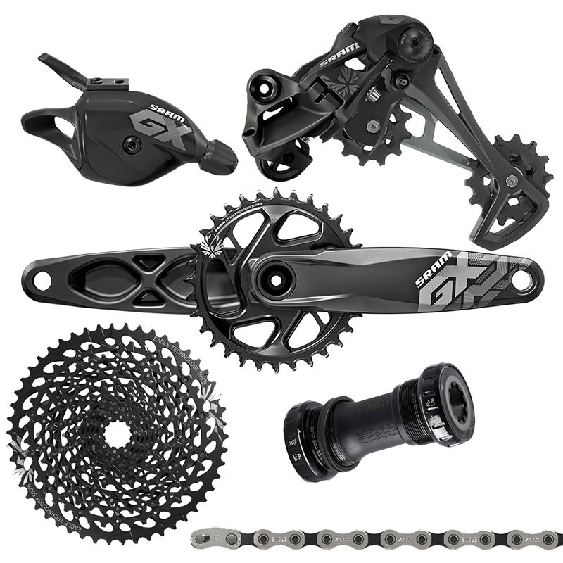 все цены на GX Bicycle Derailleur bicycles Groupset Group Set 1X12 speed 12 speed bicycle parts mtb group set mountainbike groupset онлайн