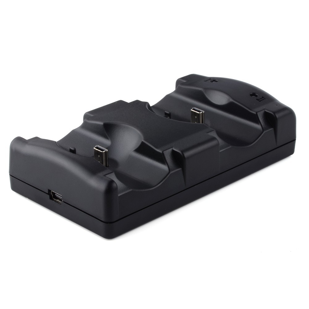 3 IN 1 Wireless Controller Charger Dual Charging Dock Station Stand for Sony PS3 PS4 Playstation 3 4 and PS3 Move