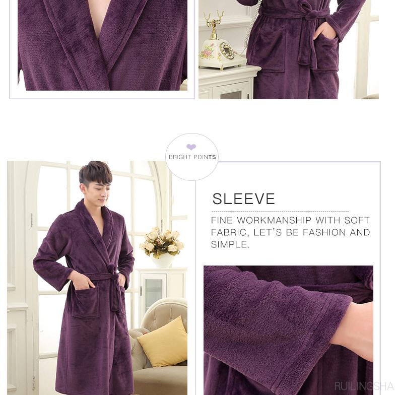 1401-Coral-Fleece-kimono-bathrobe-men-women-robes_08
