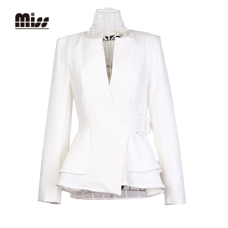 Online Buy Wholesale white blazer ladies from China white blazer ...