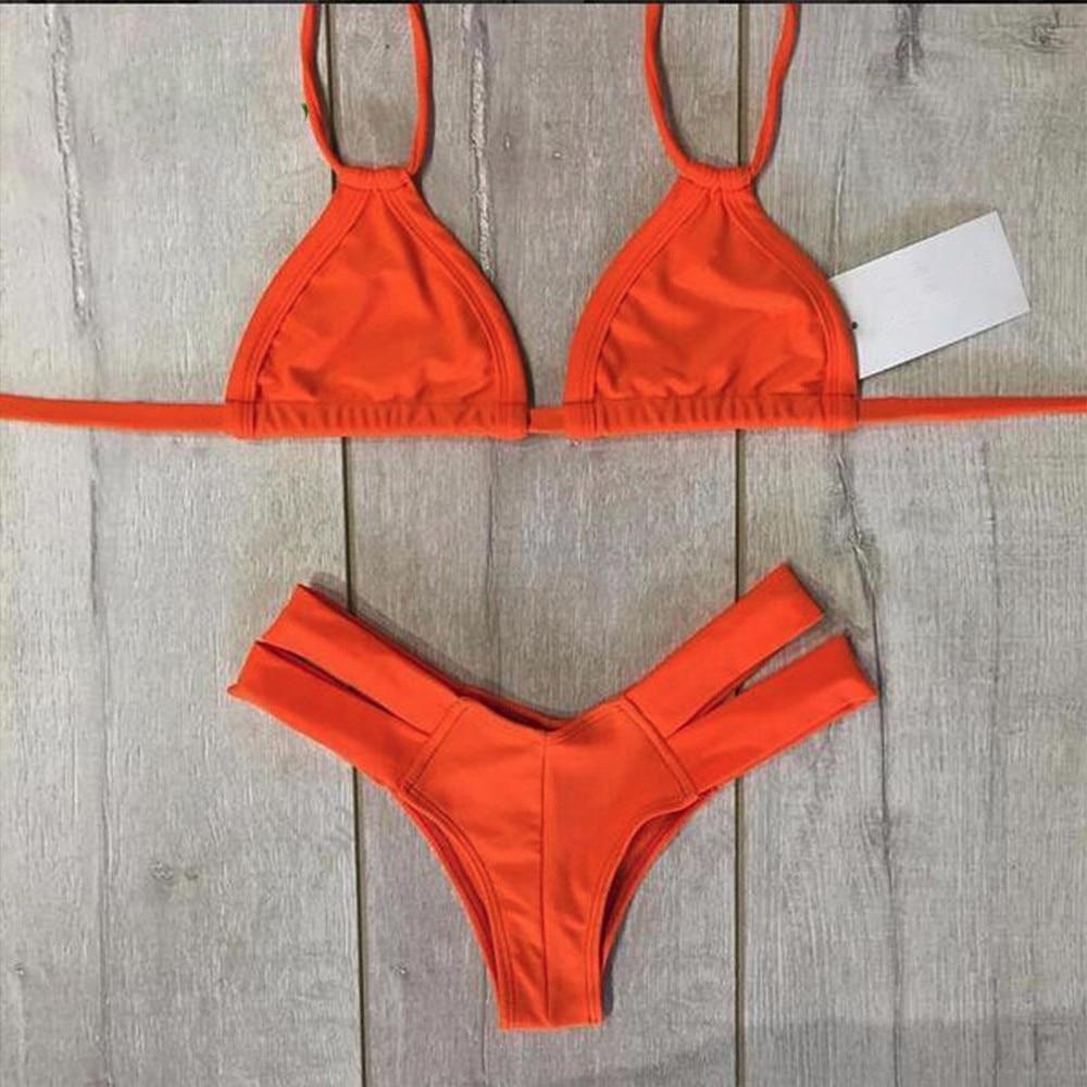 4754a271ef1 QI DIAN 2018 Hot Sexy Brazilian Bikinis Women Swimsuits Top Bandage Bathing  Suit Push Up Swimwear Bikini Set Thong Bottom Suits / BestDealPlus