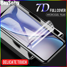 New 6D Full Cover Soft Hydrogel Protective Film For iPhone XS Max XR X 8 7 Plus Screen Protector 6 6S