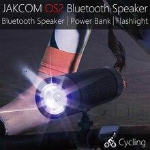 Jakcom Os2 açık Bluetooth hoparlör su geçirmez 5200mAh güç bankası bisiklet taşınabilir Subwoofer bas hoparlör ile LED ışık