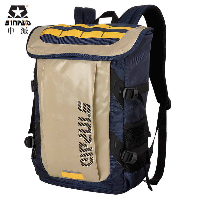 SINPAID New Backpack For MacBook 15.6 for 14 Notebook Laptop Bag Casual / Badminton /Student / Sports Bag Free Shipping new neoprene laptop bag for macbook 13 waterproof laptop sleeve for macbook pro 13 15 case free keyboard cover notebook bag 14