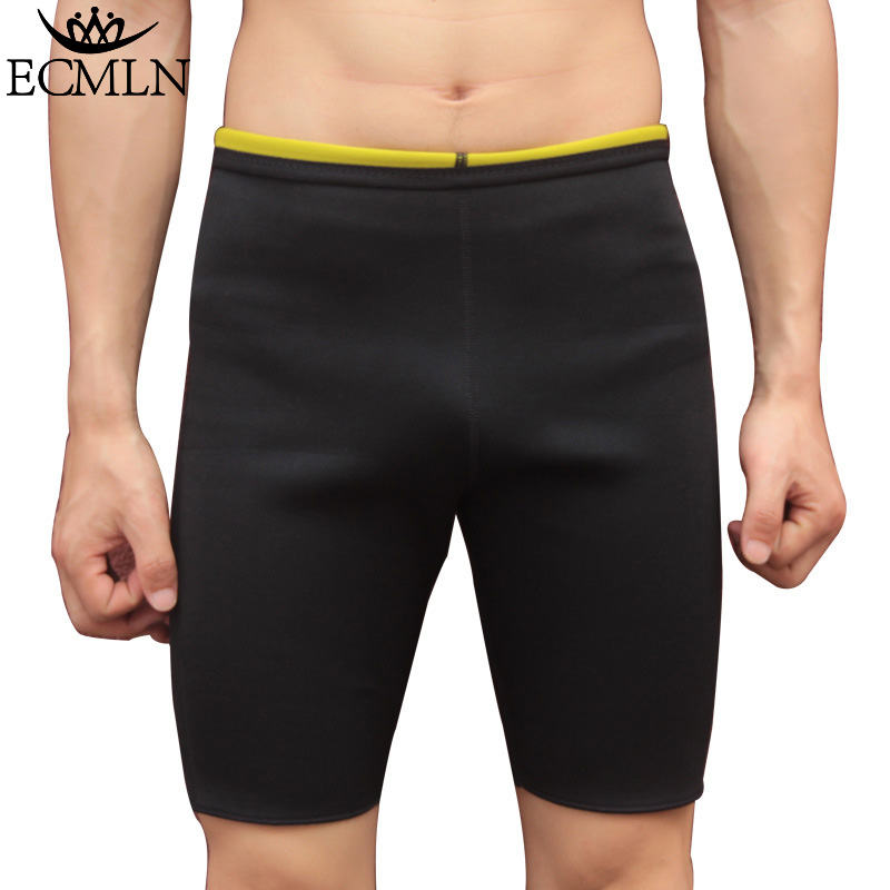 Men Slimming Body Shapers Super Stretch Shorts Pants Hot Sweating Fitness font b Weight b font